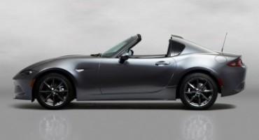La nuova Mazda MX-5 RF debutterà a Giugno al prossimo Festival of Speed di Goodwood