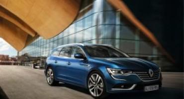 Renault Talisman Sporter, la nuova wagon dinamica e tecnologica
