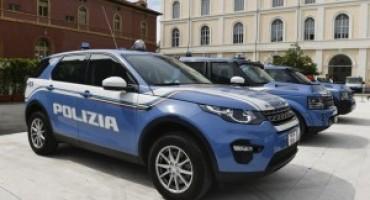 Le Land Rover Discovery al 163° Anniversario della Fondazione della Polizia di Stato