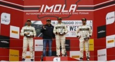 MINI Challenge 2016, sulla pista bagnata di Imola Ivan Tramontozzi vola e vince Gara 2