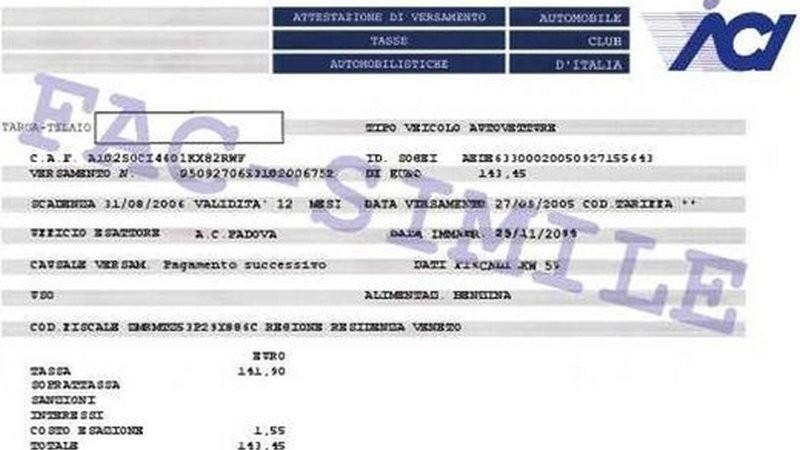 Bollo auto, in Lombardia uno sconto del 10% a chi paga con la domiciliazione bancaria
