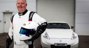 Nissan presenta Paul Eames, il suo miglior collaudatore europeo