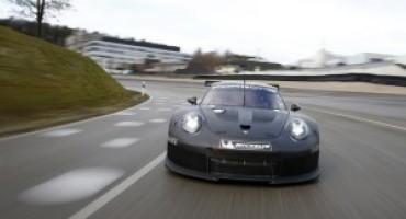 Porsche 911 RSR, l'erede inizia la fase sperimentale, sarà pronta nel 2017