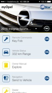 Convenient: With the innovative personal connectivity and service assistant, Opel OnStar and the myOpel app, Opel drivers can program their car's onboard navigation system via remote control, without even needing to sit in the vehicle.