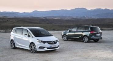 Nuova Opel Zafira, nessuna come lei