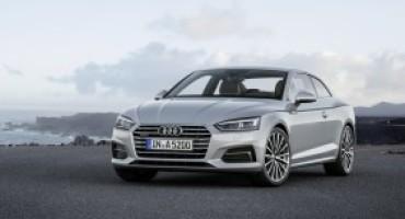 Audi presenta in anteprima mondiale le nuove A5 e S5 Coupé