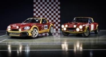 Abarth 124 Rally, la presentazione sul palcoscenico del Mondiale Rally in Sardegna
