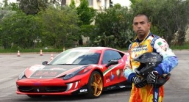 Fabio Barone tenterà di infrangere un nuovo record in Cina, con la sua Ferrari 458 Italia