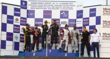 Campionato Italiano GT – Misano: in Gara 1 vittoria di Cerqui-Comandini (Super GT3) e Postiglione-Gagliardini (GT3)