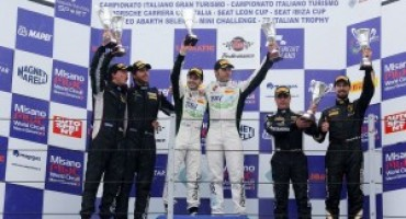 Campionato Italiano GT: a Misano la riscossa di Tommy Maino!