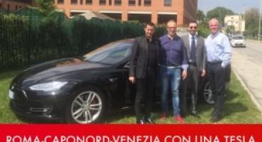 Cinque italiani, una Tesla Model S e 10.000 chilometri da percorrere senza carburante