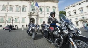 Il Reggimento Corazzieri disporrà delle nuove Moto Guzzi California 1400