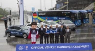 Hyundai è sponsor ufficiale UEFA EURO 2016, offrirà più di 350 veicoli