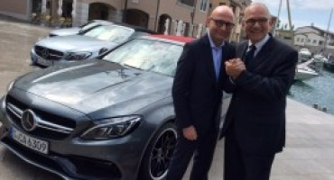 Mercedes-Benz Italia, passaggio di testimone tra Paolo Lanzoni ed Eugenio Blasetti