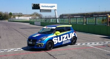 Suzuki SWIFT 1.6 Sport: la safety car del CIV per la stagione 2016