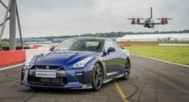 Nissan svela il Drone GT-R, solo 1,3 secondi per raggiungere i 100 Km/h!