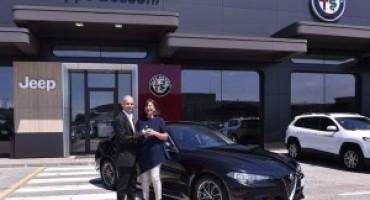 Alfa Romeo Giulia, consegnati i primi sei esemplari ai clienti