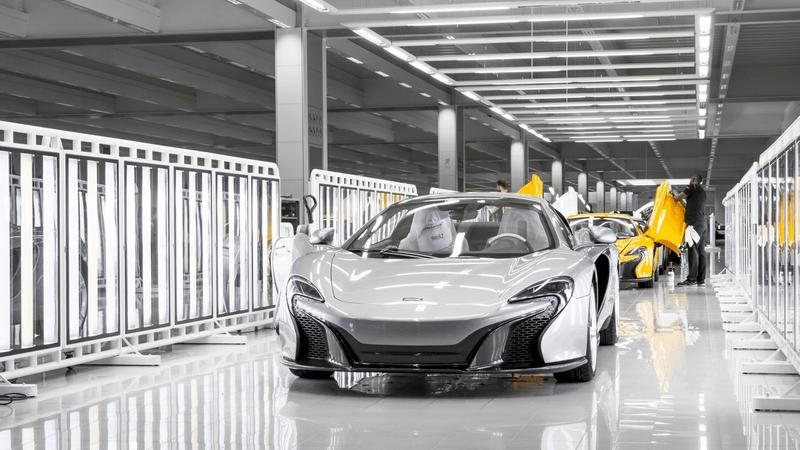 McLaren Automotive, vendite record nel 2015, aumentano investimenti e redditività