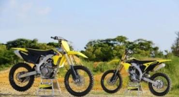 Suzuki presenta le nuove RM-Z 250 e 450 M.Y. 2017