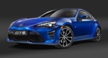 Toyota svela la GT86 model year 2017