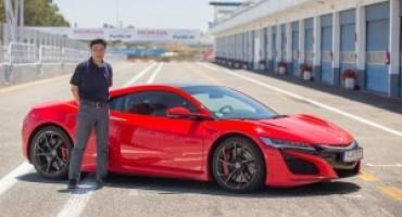 Honda, il responsabile motori, Yasuhide Sakamoto, svela i punti salienti del progetto NSX