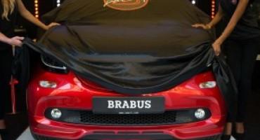 La nuova Smart Brabus svelata all'Urban MobilityStore di Roma