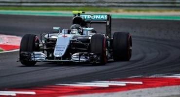 Formula 1 – GP di Ungheria, Rosberg conquista la pole, Hamilton secondo in regime di bandiera gialla