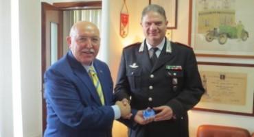 Campania – Il Generale di Brigata Gianfranco Cavallo riceve un riconoscimento da ACI Napoli