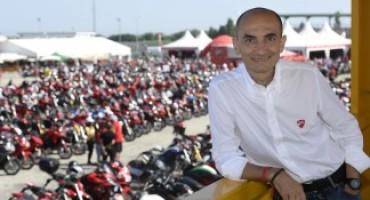 World Ducati Week 2016, l'AD di Ducati Motor Holding Claudio Domenicali saluta i Ducatisti
