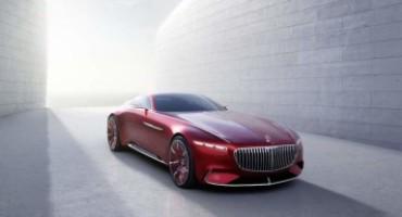 Vision Mercedes-Maybach 6, l'esclusica coupé di lusso