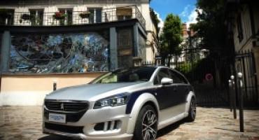 Peugeot presenta la 508 RXH Castagna Gris