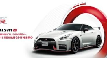 Nissan GT-R Nismo MY '17, dal 25 Agosto in vendita in Giappone