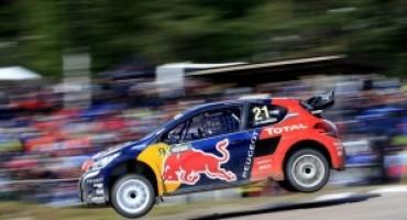 Rallycross, le Peugeot 208 WRX di Loeb e Hansen pronte a graffiare anche in Canada