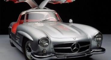 Bon ton in auto: dalla Mercedes-Benz 300 SL, Ali di gabbiano