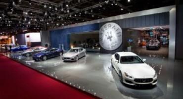 Maserati svela al Salone di Parigi le nuove Ghibli e Quattroporte MY 2017