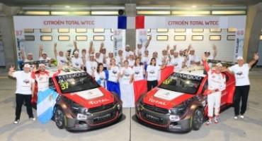 Citroen festeggia il titolo nel FIA WTCC con una tripletta!