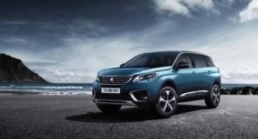 Nuova Peugeot 5008, pratica e funzionale per sette