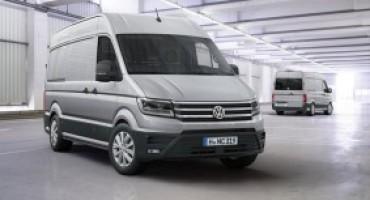 Volkswagen svela il nuovo Crafter, con carico utile fino a 5,5 t