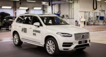 Volvo Cars, con Drive Me sperimenta il sistema di guida autonoma su strade pubbliche