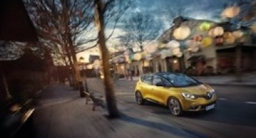 La nuova Renault Scenic riceve le 5 stelle EuroNCAP