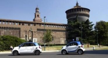 car2go, arriva a Milano la nuova flotta di smart fortwo e smart forfour