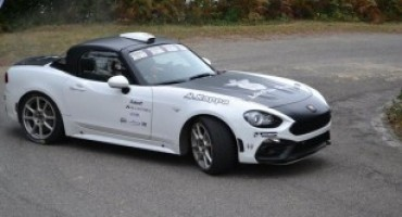 Abarth 124 Rally, pronta per i campi di gara