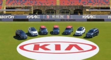 Kia Italia è sponsor del Bologna Calcio