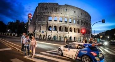 4° Rally di Roma Capitale, Paolo Andreucci su Peugeot 208 T16 di nuovo in testa alla classifica generale