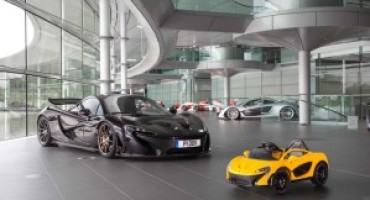 Negli showroom McLaren la P1TM  in versione elettrica