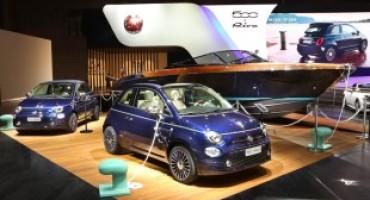 """Fiat 500 Riva """"Tender to Paris"""", al Salone di Parigi la serie speciale della piccola icona"""