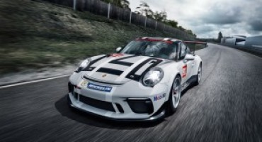 Porsche 911 GT3 Cup, la nuova edizione al Salone di Parigi