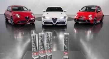 Alfa Romeo e Abarth premiate per il design da auto, motor und sport
