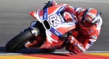 MotoGP-GP Aragon, il Ducati Team in seconda fila con Andrea Dovizioso