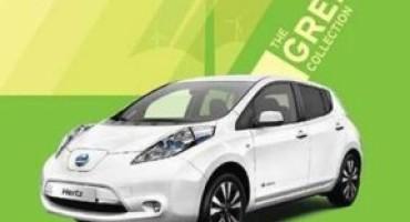 Nissan Leaf, 25 unità pronte ad entrare nella Green Collection di Hertz